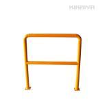 ショッピングバリ KIKAIYA パイプガード横型1000mm 車止めポール バリカー ガードパイプ