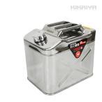KIKAIYA ステンレスガソリン携行缶20リットル 消防法適合品