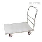 ステンレス台車 500kg オールステンレス仕様 大型台車 610x915mm 業務用 運搬車(個人様宛は別途送料) KIKAIYA