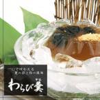 <本家菊屋>水羊羹 わらび羹【6個入】一口で味わえる夏の涼と和の風味