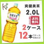 爽健美茶  ペコらくボトル 2L PET (1ケース 6本入り×2) 12本 お茶 そうけんびちゃ ペットボトル 2リットル ケース 箱