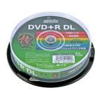 HIDISC データ用DVD+R DL 片面2層 8.5GB 8倍速 インクジェット対応 10枚スピンドルケース HDD+R85HP10