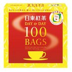 日東紅茶 紅茶ティーバッグデイ&デイ 100バック ティーバッグ アフタヌーン ブレンド 紅茶 ソフトドリンク ジュース 飲料 ホットティー アイスティー