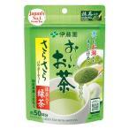 Yahoo!よろずやマルシェ(キラット)伊藤園 おーいお茶 サラサラ緑茶40g約50杯分