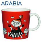 Arabia アラビア ムーミン マグ リトルミィ レッド 300ml