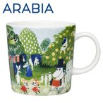 Arabia アラビア Moomin ムーミン谷 ムーミンバレー マグカップ 300ml moomin valley