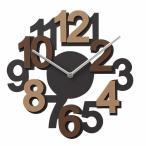 掛け時計 ALGO -アルゴ- ブラウン CL-2935BN