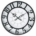 『ポイント10倍』掛け時計 GISEL -ジゼル- ブラック CL-4960BK