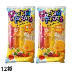 マルゴ ポッキンフルーツ果汁20% 10本入×12袋 チューペット 棒ジュース ジュース アイス ポッキンアイス おやつ