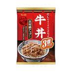 どんぶり党 牛丼 3食パック 120g×2