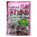 カネタ・ツーワン 国産茎わかめ 梅しそ味 お徳用 112g画像