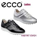2014年レディース/ECCO/エコー/14 STRT EVO1/ストリート エボ ワン/120603/ゴルフシューズ