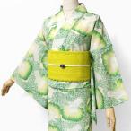 浴衣 セオアルファ 和風館 フルッタロッサ ブロッコリー 緑 野菜 モダン 女性 単品 Fruttarossa