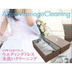 ウエディングドレス水洗いオールインワン cleaning【カラーも可】