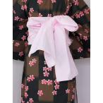 ショッピング安い 女ヘコ帯  女性帯 帯むすびが簡単な 浴衣用兵児帯 ヘコ帯 送料無料 U4422-01