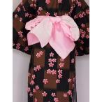 ショッピング安い 女ヘコ帯  女性帯 帯むすびが簡単な 浴衣用兵児帯 ヘコ帯 送料無料 U4422-02