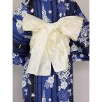 ショッピング安い 女ヘコ帯  女性帯 帯むすびが簡単な 浴衣用兵児帯 ヘコ帯 送料無料 U4422-12