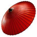 【はんなり蛇の目傘  赤】 和傘 番傘 和装 雨具 かさ 羽二重 正絹 防水 着物 無地 えんじ セール対象外 送料無料対象外【プレゼント包装不可】
