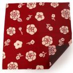 母の日 風呂敷 ふろしき 赤 こげ茶 薔薇 105cm リバーシブル 綿 日本製 かわいい おしゃれ 和 コットン ギフト プレゼント 両面 お弁当箱 エコ
