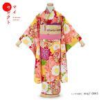 七五三 着物 7歳 レンタル 女の子 SHIKIBU ROMAN 式部浪漫 レンタル衣装 黄色 フォトブックプレゼント 753 msg7_0043
