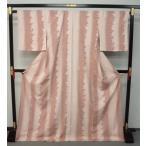値下!お仕立て上がり東レシルック着物 袷 梨乃景色  0229 ピンク