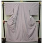 お仕立て上がり東レシルック着物 袷小紋 薄紫色 0661
