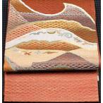 袋帯 西陣織袋帯 正絹 遠山 F2058  お仕立て上がり 夏のお出かけはお着物で