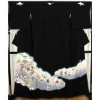 黒留袖  正絹  源氏物語 ki21535  結婚式にはお着物で