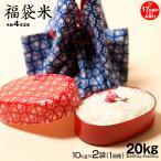 お米 福袋米 白米20kg 10×2袋 平成30年 滋賀県産 2018