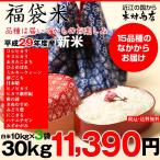 【新米】福袋米 白米30kg(10×3袋)【平成28年:滋賀県産】