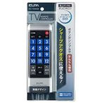 RC-TV008SH エルパ 地デジテレビ・かんたんリモコン シャープ・アクオス専用 RCTV008SH