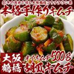 胡瓜キムチ 500g きゅうりキムチ キュウリキムチ オイキムチ 冷蔵限定 グルメ