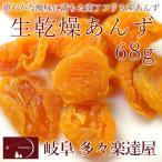 岐阜 多々楽達屋 生乾燥あんず68g ドライフルーツ 砂糖不使用 たたらちや クール冷蔵便
