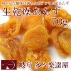 生乾燥あんず70g 砂糖不使用 ドライフルーツ たたらちや 岐阜 多々楽達屋 常温・冷蔵可 グルメ