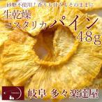 岐阜 多々楽達屋 生乾燥コスタリカパイン46g ドライフルーツ 砂糖不使用 たたらちや パイン パイナップル クール冷蔵便