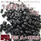 ワイルドブルーベリー50g ドライフルーツ たたらちや 岐阜 多々楽達屋 常温・冷蔵可 グルメ
