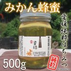 30年産 愛媛産 みかん山のみかん蜂蜜500g(中) 国産純粋蜂蜜