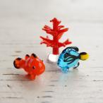 ジェルキャンドル用ガラス細工 「海の人気もの」Aセット クマノミ ナンヨウハギ サンゴ(レッド)各12個入り 36個セット【ワークショップ 自由研究に!】