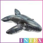 INTEX(インテックス) クジラ リアリスティック ホエール ライドオン フロート