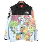 Supreme × THE NORTH FACE 2014SS Expedition Coaches Jacket マルチカラー サイズ:M (吉祥寺