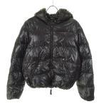 【1月24日値下】DUVETICA 「dionisio」 フーデッドダウンジャケット ブラック サイズ:46 (和歌山店)