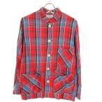 VISVIM チェックシャツジャケット レッド×ブルー サイズ:S (和歌山店) 191112