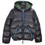 DUVETICA DIONISIO ディオニシオ フーデッド ダウンジャケット ブラック サイズ:44 (新潟紫竹山店) 201207