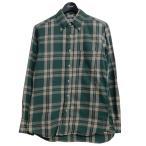 INDIVIDUALIZED SHIRTS チェック柄BDシャツ グリーン サイズ:15-32 (三条堀川店) 201103