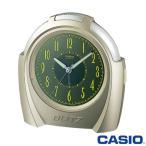 カシオ 置き時計 スムーズ秒針 398J (シャンパンゴールド)