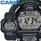 カシオ スポーツギア スポーツウオッチ S100H ブラック 樹脂バンド ラップ・スプリットタイム機能を装備 CASIO SPORTS GEAR FOR RUNNING