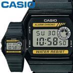 カシオ スタンダード ウオッチ 94WA ブラック 樹脂バンド 電池寿命約7年 CASIO STANDARD WATCH