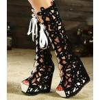 ショッピングブーツサンダル ブーツ サンダル ブーツサンダル サマーブーツ ブーツサンダル サマーブーツ オシャレサンダル オープントゥ ブーツサンダル 美脚 ブーツ レディース靴
