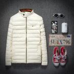 ダウンコート ショート メンズ スプリングコート ジャケット おしゃれ エレガント アウター ダウン カジュアル 大きいサイズ 秋 冬 防寒 防風