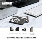 新品SSD 360GB KingSpec 2.5インチ SSD [Q-360] (3D TLC/ SATA600/ 7mm)